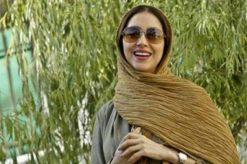 بهاره کیان افشار با تیپی خاص و لباسی متفاوت/تصویر