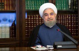 پیام تبریک روحانی به ملت و دولت الجزایر