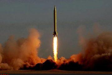 موشک کروز «قادر» +عکس