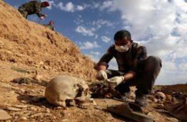 کشف گور جمعی در جنوب موصل