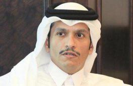 وزیر خارجه قطر: نباید به ابزارهای عربستان و امارات پناه ببریم/ مشکلات منطقه با گفتوگو حل شود