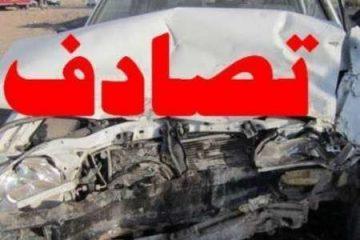 تصادف شدید در هشترود قربانی گرفت / تصویر