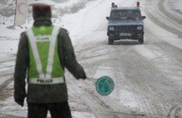 برف سنگین در جاده چالوس/تصویر