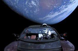 سرنوشت خودرو تسلا در فضا