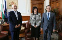 رئیس مجلس بلغارستان: از گسترش روابط با ایران حمایت میکنم