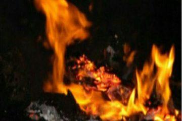 آتش سوزی مهیب در انبار لوازم خودرو در شیراز/ تصاویر