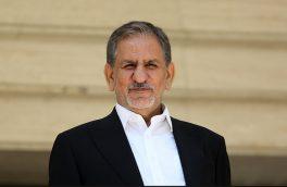 صحبت های معاون اول رئیس جمهور در حاشیه افتتاح ورزشگاه فولاد خوزستان
