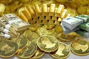 آخرین قیمت دلار و سکه و طلا در بازار امروز