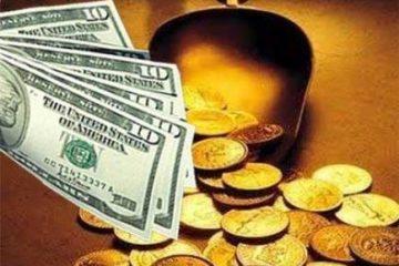 آخرین قیمت ارز و طلا در بازار/ قیمت ها در شیب کاهشی/ جدول