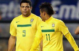 کپی برابر اصل دختران دوقلوی ستاره برزیلی فوتبال/تصویر