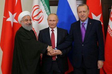 روحانی با پوتین و اردوغان دیدار می کند