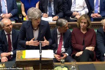 چالش تازه برگزیت برای ترزا می و دولت بریتانیا