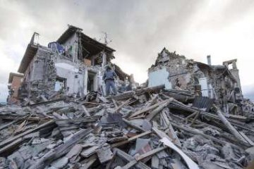 مصدومشدن ۱۵۶نفر و تخریب۸۱واحدمسکونی براثرزلزله کرمانشاه