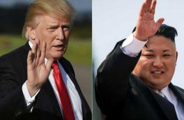 آمریکا به پیشواز دیدار کیم و ترامپ رفت+عکس