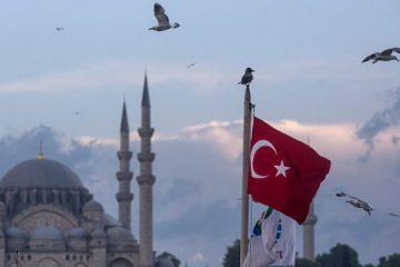 مردم ترکیه دلار را به آتش کشیدند
