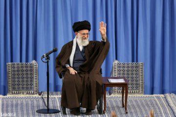 دانشآموزان و دانشجویان با رهبر انقلاب اسلامی دیدار کردند