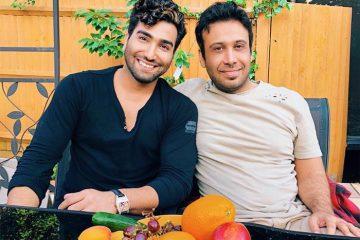 ملاقات محسن چاووشی با خواننده خارج نشین! + عکس