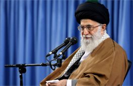 اقامه نماز عید فطر به امامت رهبر انقلاب