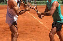 تنیس بازی رونالدو+عکس
