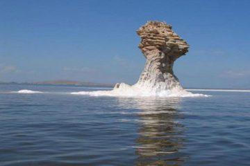این تصویری زیبا از فیلمی هالیوودی نیست اینجا دریاچه ارومیه است