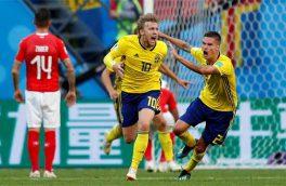 شوخی با سوئدی ها بعد از پیروزی+ عکس