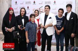 سالار عقیلی در مراسم اکران فیلم «بهاره افشاری» +عکس