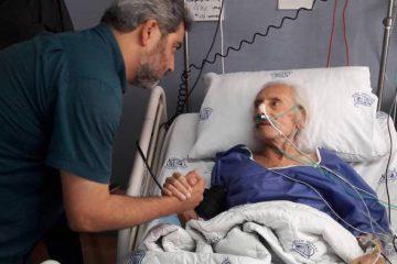 تصویری غم انگیز از جمشید مشایخی در بیمارستان