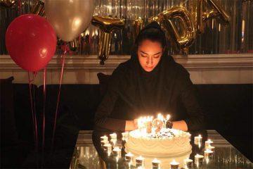 جشن تولد کیمیا علیزاده در کافی شاپ+ عکس