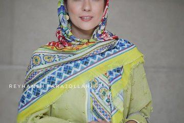 تیپ خانم بازیگر در یک مراسم+ عکس
