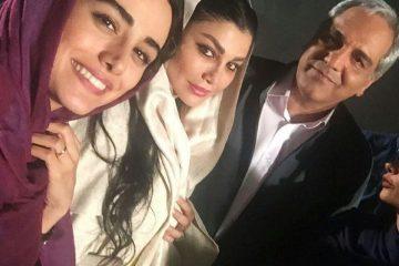 سلفی مهران مدیری با طرفدارانش+ عکس