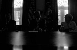 قطع شدن برق در کاخ سفید+ عکس