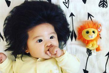 قیافه نوزاد ژاپنی خبرساز شد+ عکس
