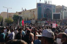 مراسم تشییع شهدای حادثه تروریستی اهواز برگزار شد