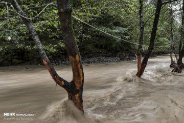 خطر وقوع سیلاب در روز دوشنبه