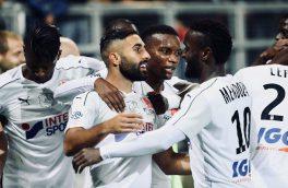 سومین گل ستاره تیم ملی فوتبال در لیگ فرانسه