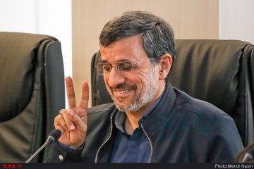 علامت پیروزی احمدی نژاد و چند سئوال!