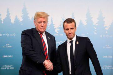 جزئیات دیدار ترامپ و مکرون