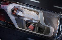"""اتومبیل """"ولوو"""" به اتاق خواب تبدیل میشود +عکس"""