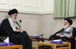 دیدار آیت الله شبیری زنجانی با رهبر انقلاب