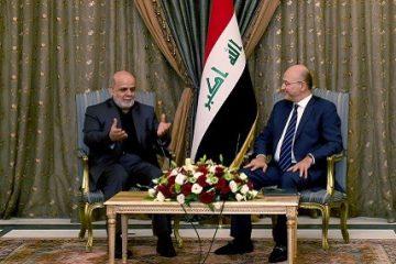 سفیر ایران با نخست وزیر جدید عراق دیدار کرد