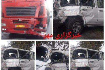 رئیس سازمان تامین اجتماعی و معاون پارلمانی سازمان بر اثر تصادف جان باختند