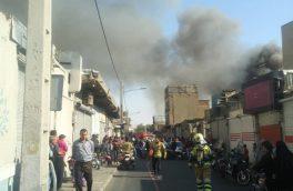 آخرین خبرها از آتش سوزی گسترده در تهران