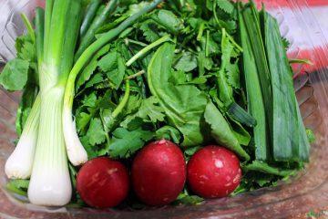 روشی ساده برای از بین بردن سموم سبزیجات