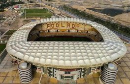 افتتاح مدرن ترین ورزشگاه فوتبال ایران