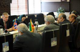 دیدار مقامات ایرانی با سفیر بریتانیا
