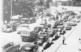 ترافیک ۷۰ ساله در راسته دلار فروش ها/تصویر