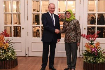 استقبال خانم رئیس جمهوری با ظاهری متفاوت از پوتین/ تصاویر