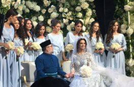 دختر شایسته روس برای ازدواج با پادشاه مالزی مسلمان شد/ تصاویر