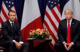 فرانسه رعیت آمریکا نیست