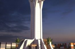 ساخت بلند ترین برج دریایی در دروازه ملل